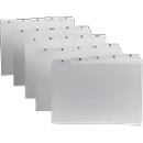 DURABLE tabkaarten, A5, letters A-Z, kunststof, wit