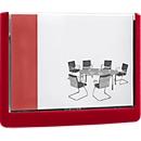 DURABLE Türschild CLICK SIGN, 149 x 105,5 mm, 5 Stück, rot