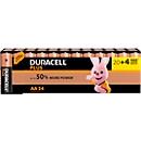 DURACELL® batterij Plus Power, Mignon AA, 20 st. + gratis 4 st.