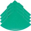 Ecken für Bodenrost Yoga Rost®, grün, 4 Stück