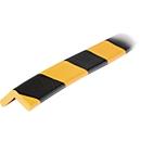 Eckschutzprofil Typ E, 1-m-Stück, gelb/schwarz