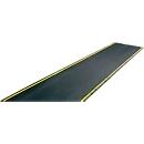 EHA-industrierooster +11, zwart/geel, 600 mm