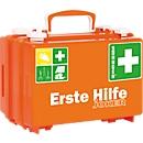 EHBO-koffer Quick-CD Joker, DIN 13157, 3 niveaus, met draaisluitingen, incl. wandhouder