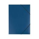 EICHNER Eckspannmappe, DIN A4, 3 Flügelklappen, 10 Stück, blau