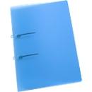 EICHNER Schlaufen-Schnellheftmappe STRIP, DIN A4, Polypropylen, 10 Stück, blau