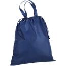 Einkaufstasche mit Kordelzug, dunkelblau
