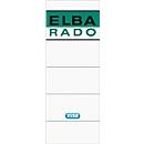 ELBA Rado A5-Rückenschilder, Rückenbreite 80 mm, selbstklebend, 10 Stück