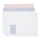 ELCO Office Briefumschläge, DIN C4, m. Fenster links, 120 g/m², 50 Stück