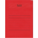 Elco Organisationsmappen Ordo Volumino, für DIN A4, 50 Stück, intensivrot