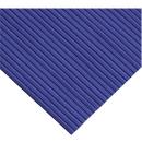 Ergonomischer Läufer, Zuschnitt, 600 mm breit, blau