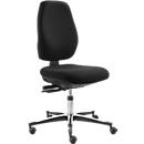 ESD-Arbeitsdrehstuhl Industry Tec classic IS 2087, ohne Armlehnen, Syncro®-Tension, hohe Rückenlehne, schwarz