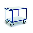 ESD etagewagen met 2 laadvlakken, 1200 x 800 mm, draagvermogen 500 kg
