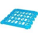 Etagenboden, Kunststoff, für 3-seitige Rollbox, hellblau