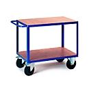 Etagewagen, 2 laadvlakken, 850 x 500 mm, draagvermogen 500 kg, voor productie en werkplaats