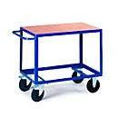 Etagewagen met 1 laadvlak, 1000 x 700 mm, draagvermogen 500 kg, voor productie en werkplaats