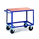 Etagewagen met 1 laadvlak, 850 x 500 mm, draagvermogen 500 kg, voor productie en werkplaats