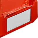 Etikett für Sichtlagerkasten 14/7 - 2/2H/3, Stahl