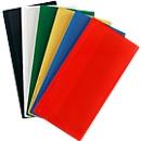 Etikettenhoes Label TOP, magnetisch, 80 x 160, rood