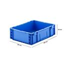 Euro Box Serie MF 4120, aus PP, Inhalt 10 L, Unterfassgriff, blau