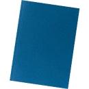 FALKEN Aktendeckel, DIN A4, Karton, blau