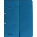 FALKEN ringhechtmap, voor A4, halve kaft, 1 stuk, blauw
