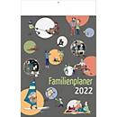 Familien-Kalender, für 5 Personen, B 240 x H 375 mm, mit Werbedruck