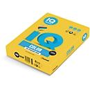 Farbiges Kopierpapier Mondi IQ Color Intensivfarbe, DIN A4, 80 g/m², intensivgelb, 1 Paket = 500 Blatt
