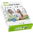 Farbiges Kopierpapier Papyrus RecyStar Color, DIN A4, 80 g/m², hellgrün, 1 Paket = 500 Blatt
