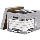 Fellowes Archivbox Bankers Box®, mit Stülpdeckel, bis 12 kg belastbar, 10 Stück