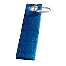 Filz-Schlüsselanhänger, Royalblau, Standard, Auswahl Werbeanbringung optional
