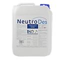 Flächendesinfektionsmittel NeutroDes, gegen Viren, Bakterien & Pilze, oberflächenaktiv, IHO-gelistet, farblos, 5 l