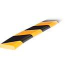 Flächenschutz Typ F, 1-m-Stück, gelb/schwarz