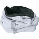 Fleece Schlauchtuch, mit Reflektorstreifen, Einheitsgröße, Polyester, Stickerei auf Anfrage, weiß