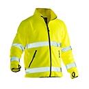 Fleecejas Jobman 5502 PRACTICAL, Hi-Vis, EN ISO 20471 klasse 3, geel, polyester, XS