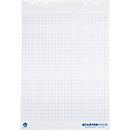 Flipoverblok met gerecycled papier, 5 x 20 vellen, 80 g, geruit