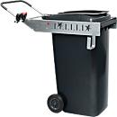 Flora frame voor afvalcontainer Carrier Pick Up, handgreep en gereedschapshouder, 240 L afvalbakken