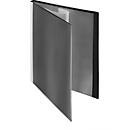 FolderSys presentatiemap, voor A4-formaat, 20 zichtmappen, zwart