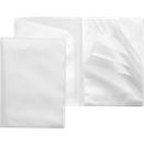 FolderSys Sichttasche QUICKLOAD, DIN A4, genarbt, 14 Stück, transparent