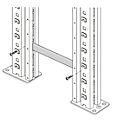 Frameverbinder voor Systeem R 3000, voor frameafstand 6 mm