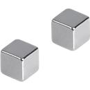 Franken Magnete Würfel 10x10x10 mm, 2 Stück