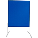 FRANKEN Moderationstafel Pro Line, 1200 x 1500, Filz blau