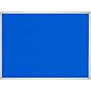 FRANKEN Pinnwandtafel Pro Line, Filz, 900 x 1200 mm, blau