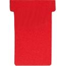 FRANKEN T-kaarten, voor insteekbord, maat 2, rood