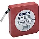 Fühlerlehrenband 0,15 mm D  13 mm x 5m