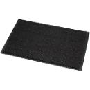 Fußmatte Mikrofaser, B 1200 x L 1800 mm, waschbar bei 30 Grad, grau