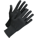 Gebreide handschoenen met noppen Worksafe L71-720, CE Cat 1, katoen/spandex, maat 6-7, zwart, 12 paar