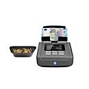 Geldwaage Safescan 6165, für Münzen & Banknoten, 13 vorinstallierte Währungen, Additions- & Druckfunktion