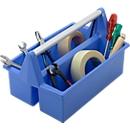 Gereedschapsbox, blauw
