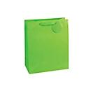 Geschenkzak krijtstrepen, XXL groot, 26 x 135 x 32 cm, scheurbestendig, 4-delige set groen