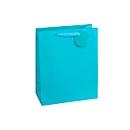 Geschenkzak krijtstrepen, XXL groot, 26 x 135 x 32 cm, scheurbestendig, set van 4, blauw
